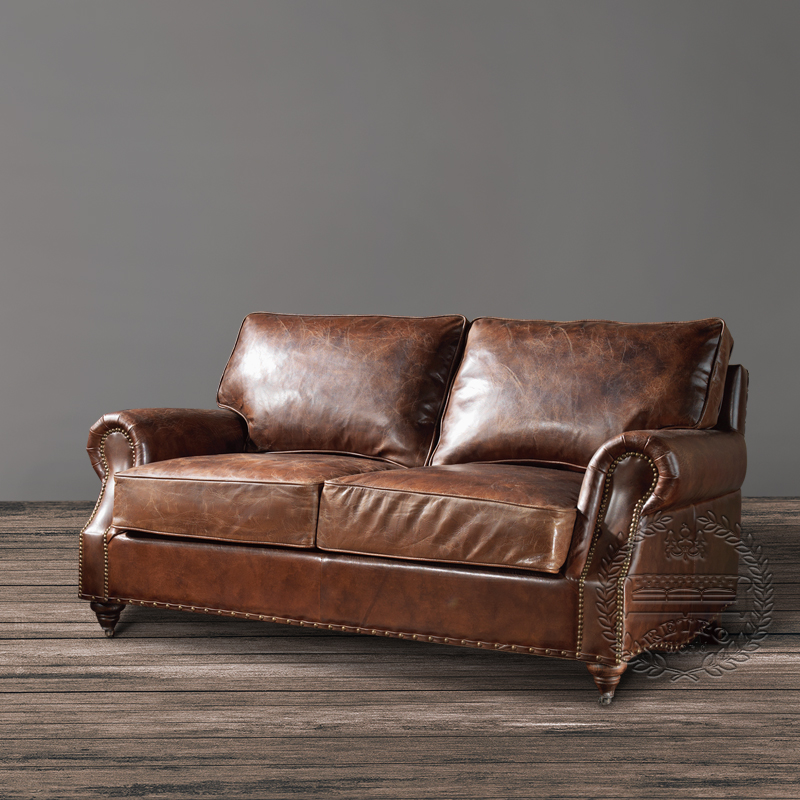 Distressed Tan Leather Sofa Vintage Tan Leather Sofa Vintage Sofa
