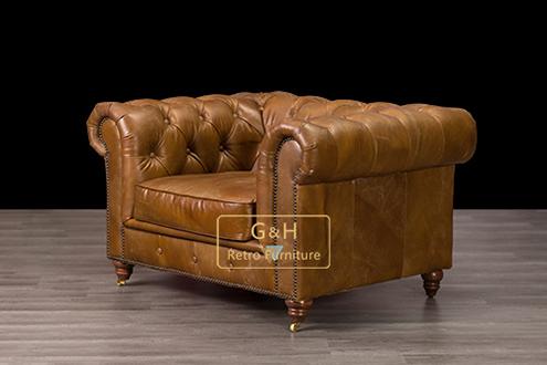 Vintage handmade sofas